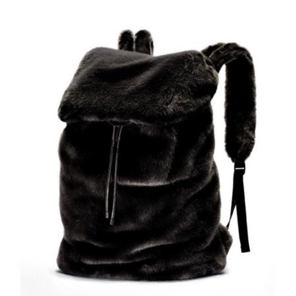 Just In/HPPopular Fenty PUMA Faux Fur Bag